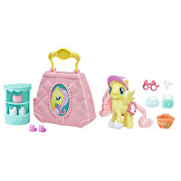 MLP the Movie Fluttershy Purse Pet Care Folding Playset