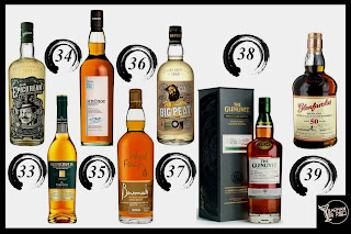 top 50 whiskies