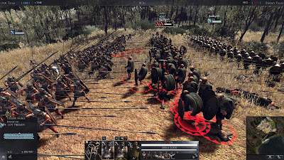 total war arena en batalla