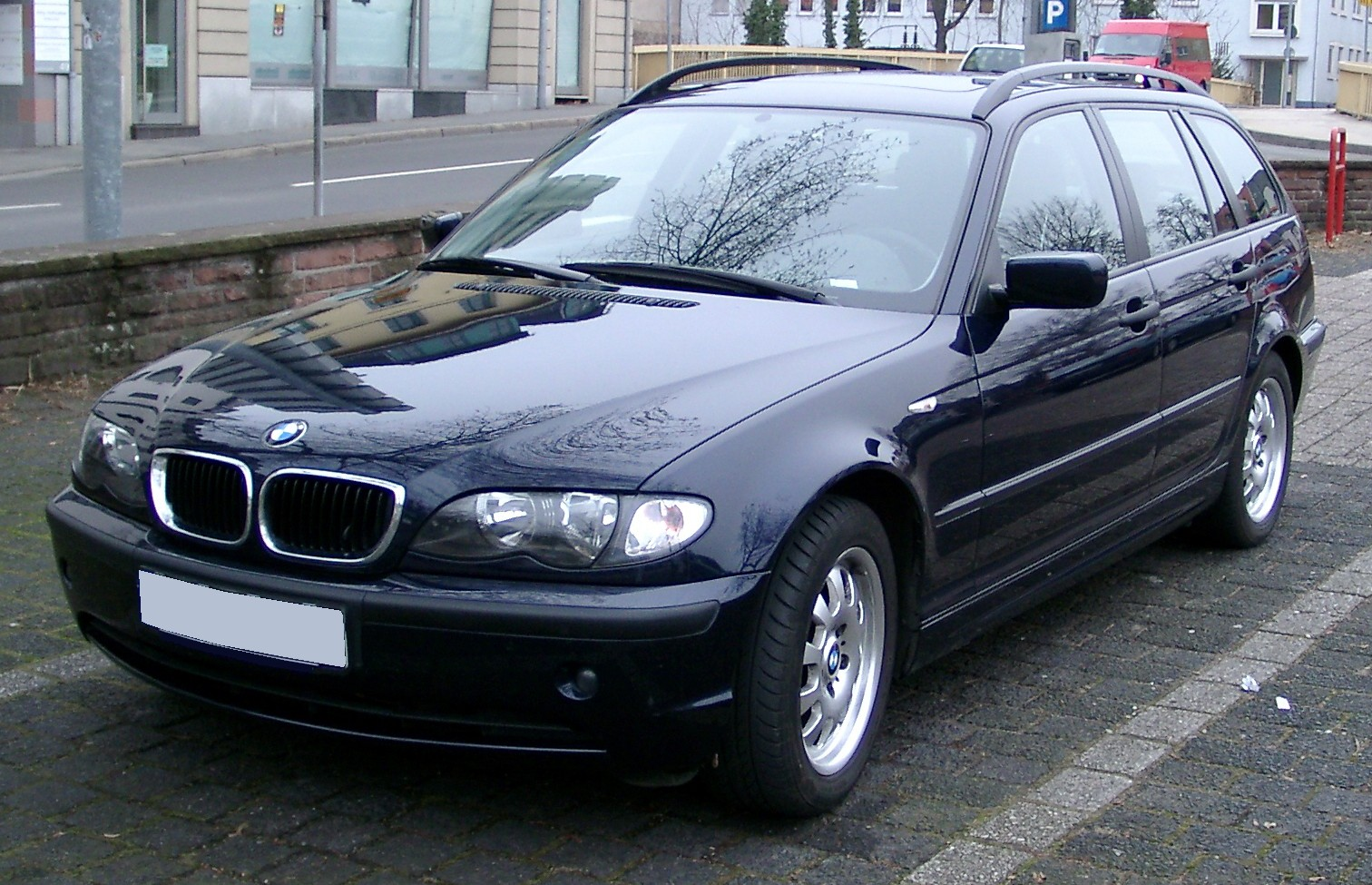 Bmw E46 on 2012 buick enclave