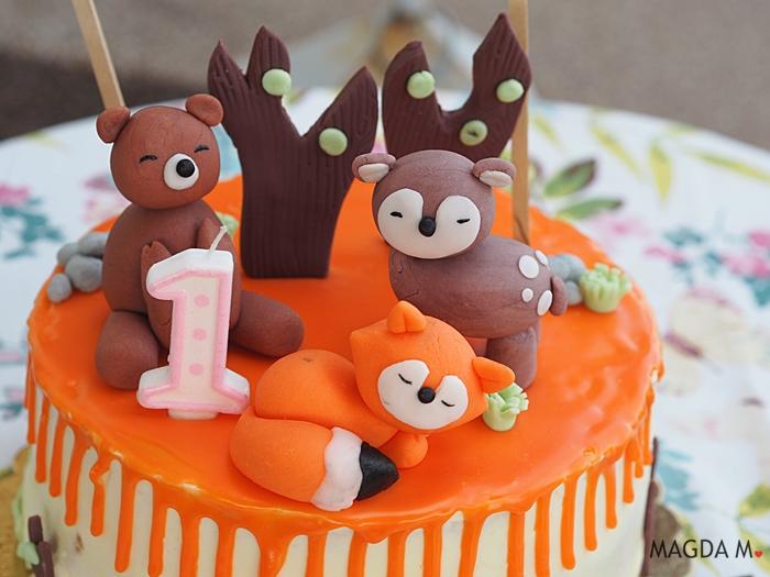 urodziny woodland animals