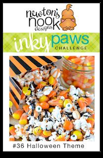 Inky Paws Challenge 36 - Halloween Theme |  Newton's Nook Designs