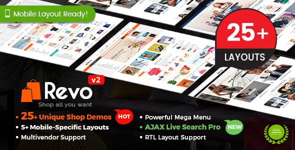 Revo v2.9.0 – Multi-purpose WooCommerce WordPress Theme