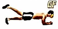 Variasi latihan plank single leg
