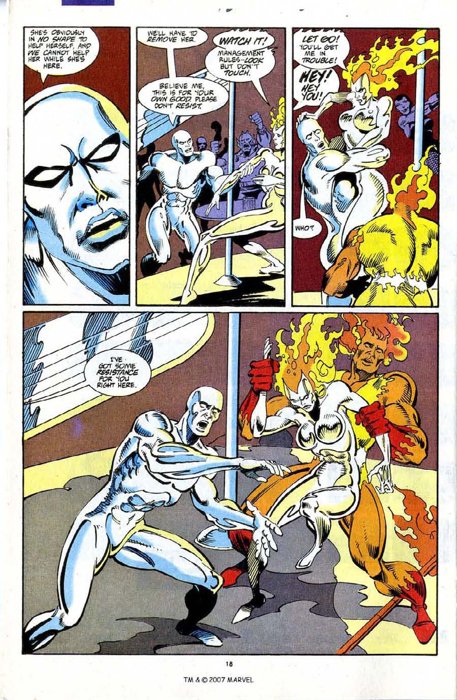 Read online Silver Surfer (1987) comic -  Issue #72 - 20