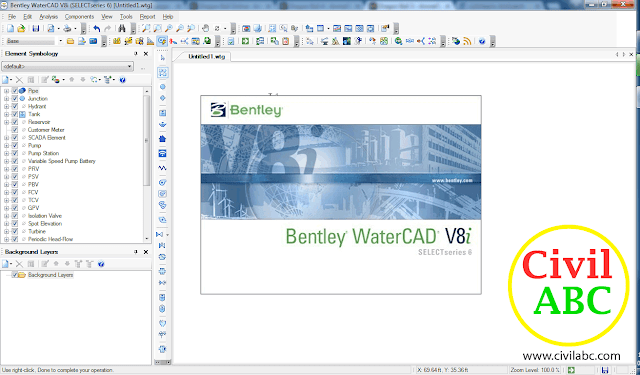WaterCAD v8i SS6 Free Download