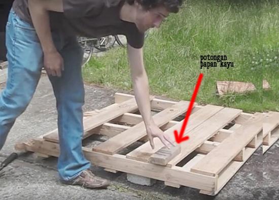 Cara membongkar dan mensortir kayu palet peti kemas