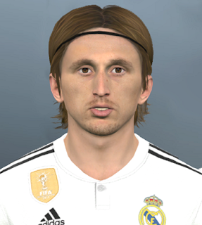 PES 2017 Faces Luka Modrić by Facemaker Ahmed El Shenawy