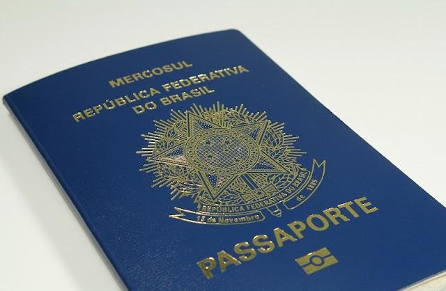 Passaporte para viajar ao exterior