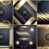 تحميل إضاءات ذهبية بخلفية شفافة بصيغة  Vector Collection