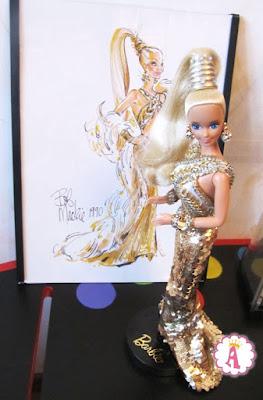 Bob Mackie Barbie первая в серии игрушка 1990 года