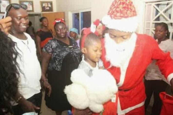 nigerian santa claus 2013