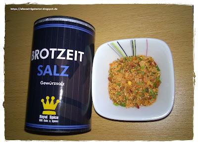 Brotzeit Salz Gewürz