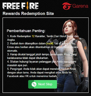 download script phising free fire viral