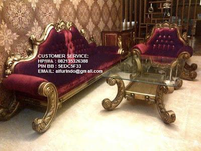 mebel interior jati klasik,sofa jati klasik,KODE SF354
