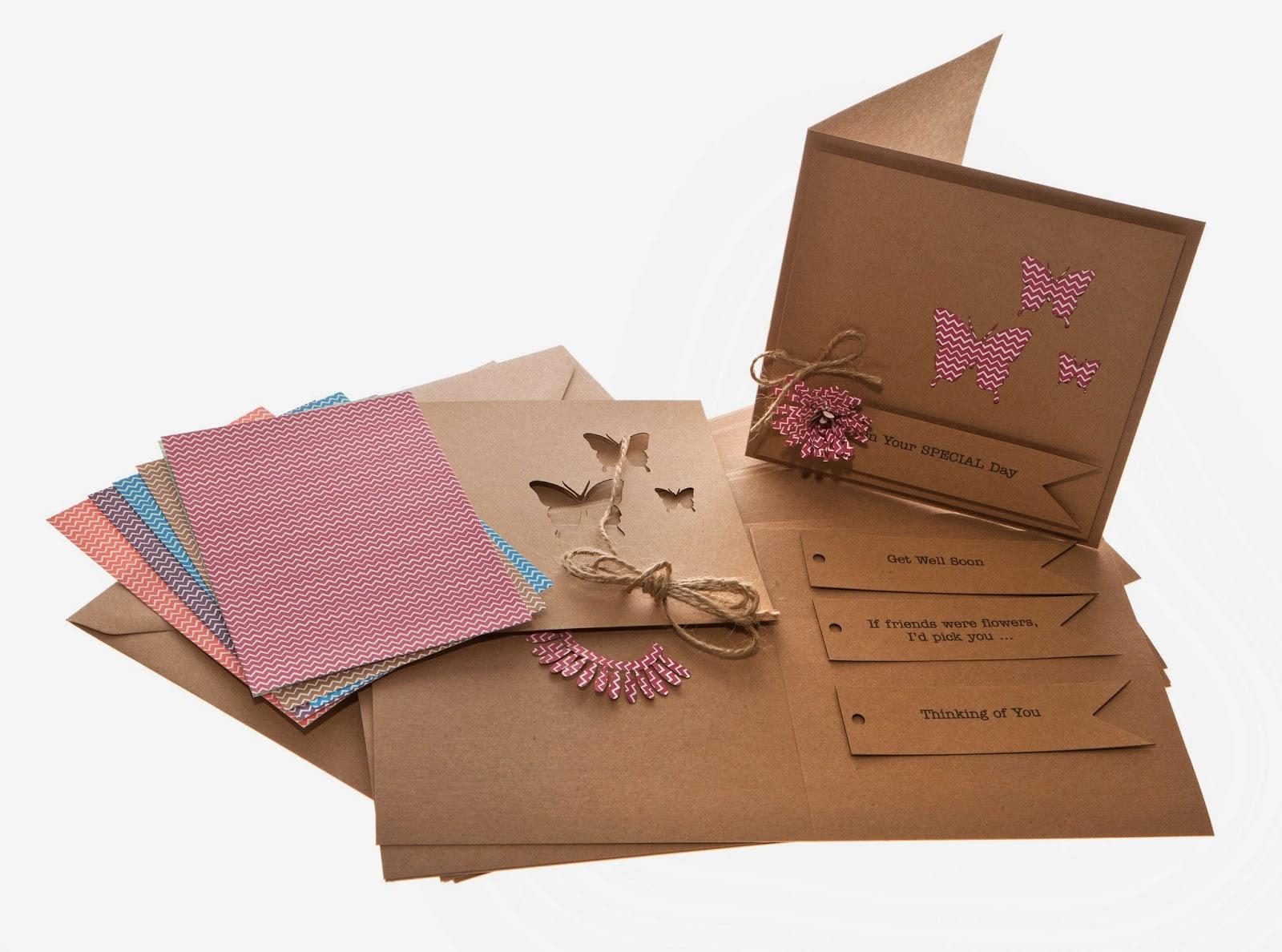 e9e5628b1b214 Razzle Dazzle Rose: NEW ! Recycled Greeting Card Kits