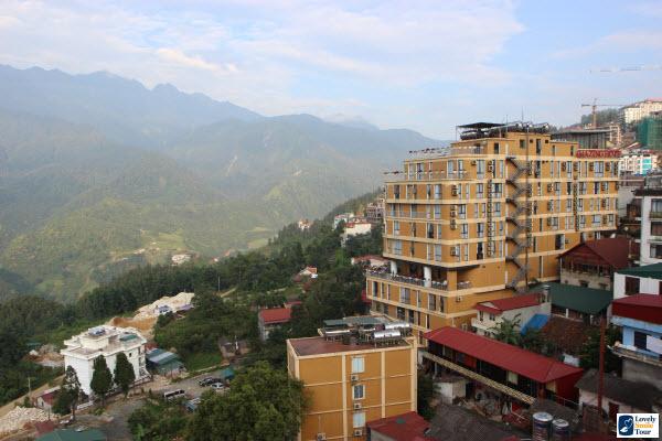 ทัวร์เวียดนามเหนือ Holiday sa pa hotel วิวโรงแรม