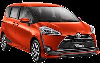 Paket Simulasi Kredit Toyota Sienta di Pekanbaru
