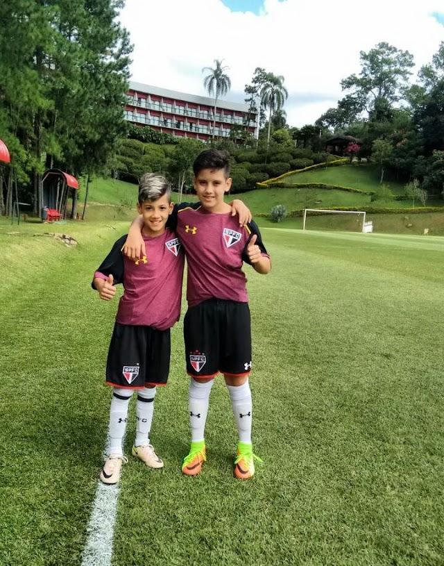 Atletas de Roncador e Iretama treinam no São Paulo
