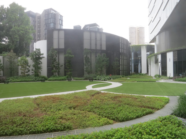 Novotel Singapore on Stevens - outdoor area