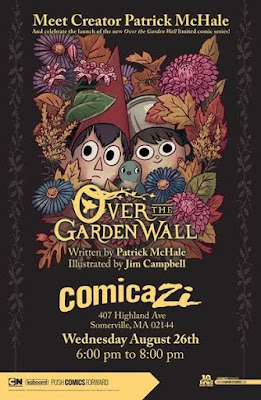 "Book Signing with Creator of Cartoon Network's ""Over the Garden Wall"" Miniseries"