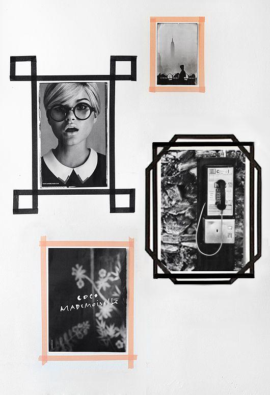 la fabrique d co washi tape ou masking tape une d co polyvalente cr ative et ph m re. Black Bedroom Furniture Sets. Home Design Ideas