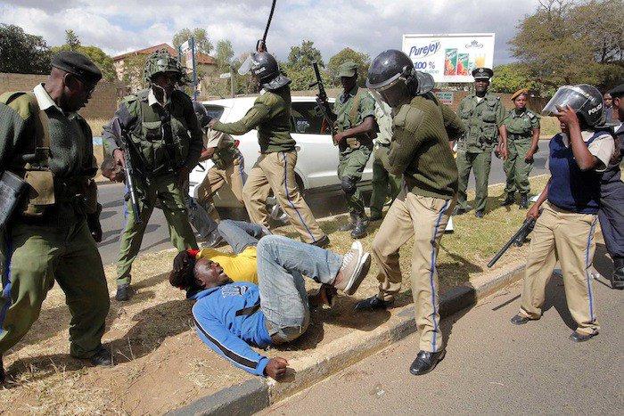 Zambia Police Defend Anti-Graft Protesters