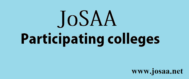 JoSAA 2017 Participating colleges