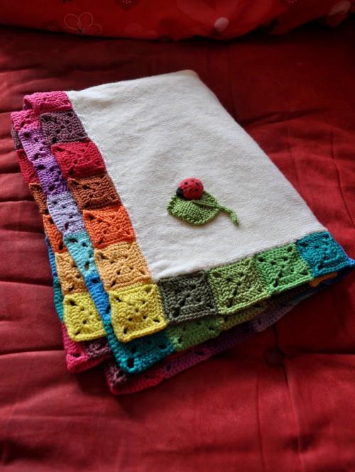 Square Target Border - Crochet Tutorial