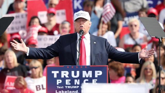 Agoniza la campaña de Trump: donantes piden reembolso del dinero