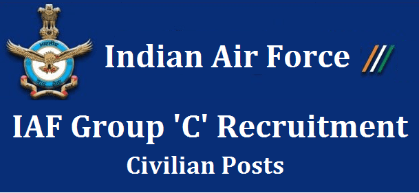 latest jobs, Police Jobs, Central jobs, IAF Recruitment, Indian Air Force, IAF Group C Posts