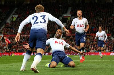 Highlight Manchester United 0-3 Tottenham Hotspur, 27 Agustus 2018
