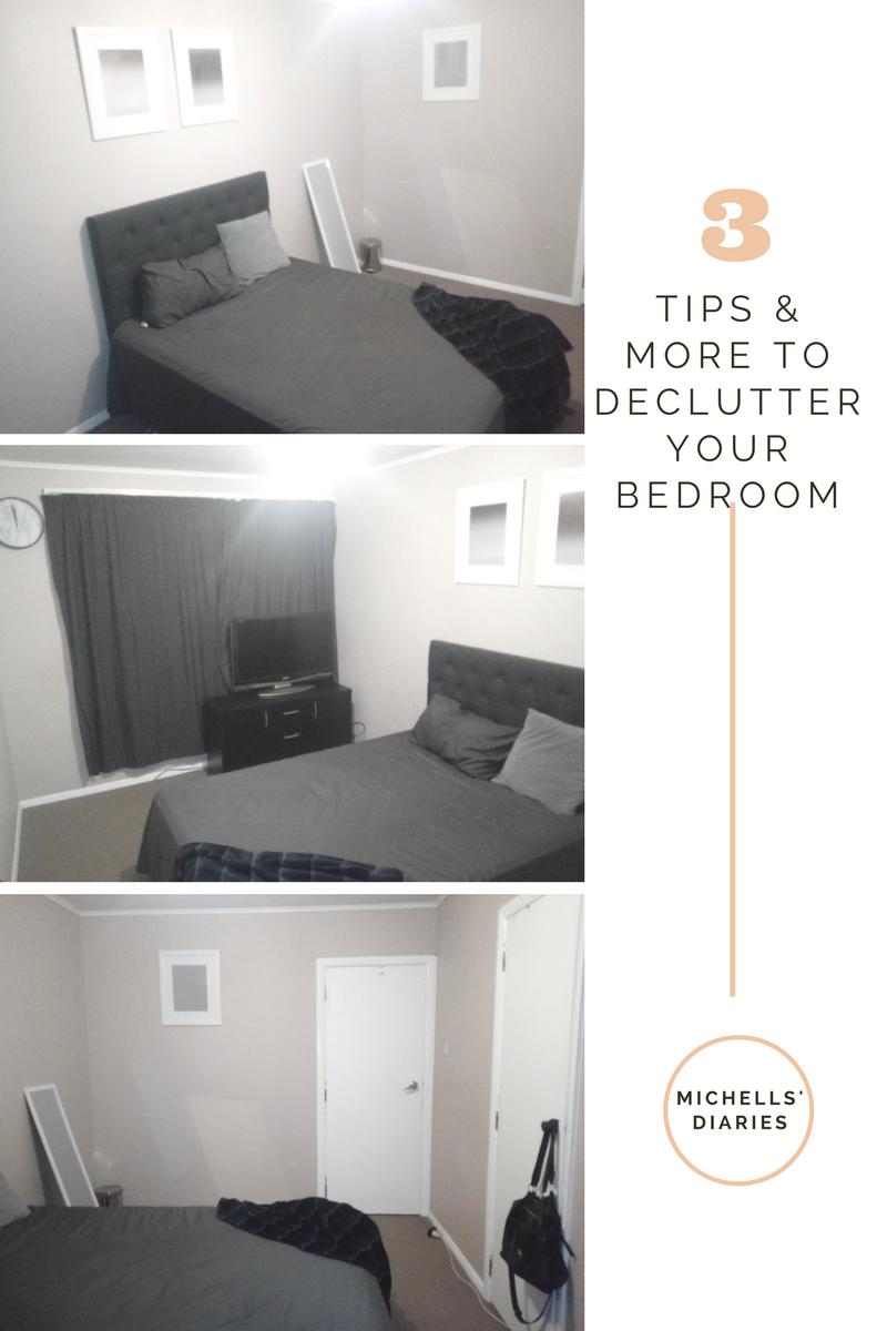 Declutter my bedroom Declutter bedroom