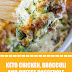 Keto Chicken, Broccoli and Cheese Casserole #keto #ketochicken