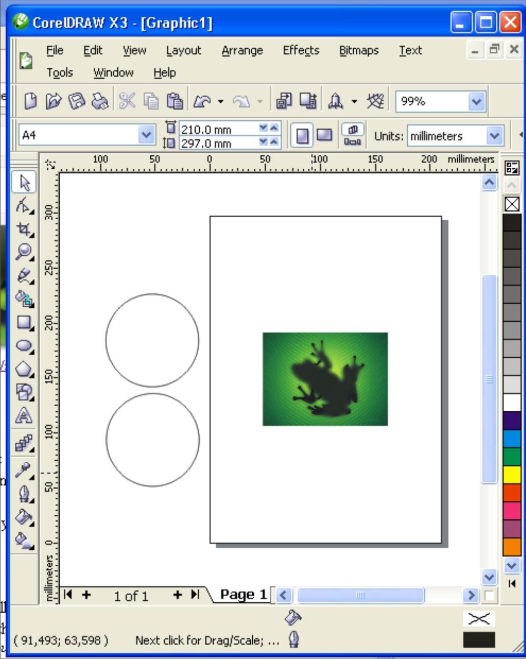 Drawing Orb Glass in CorelDraw - CorelDraw :