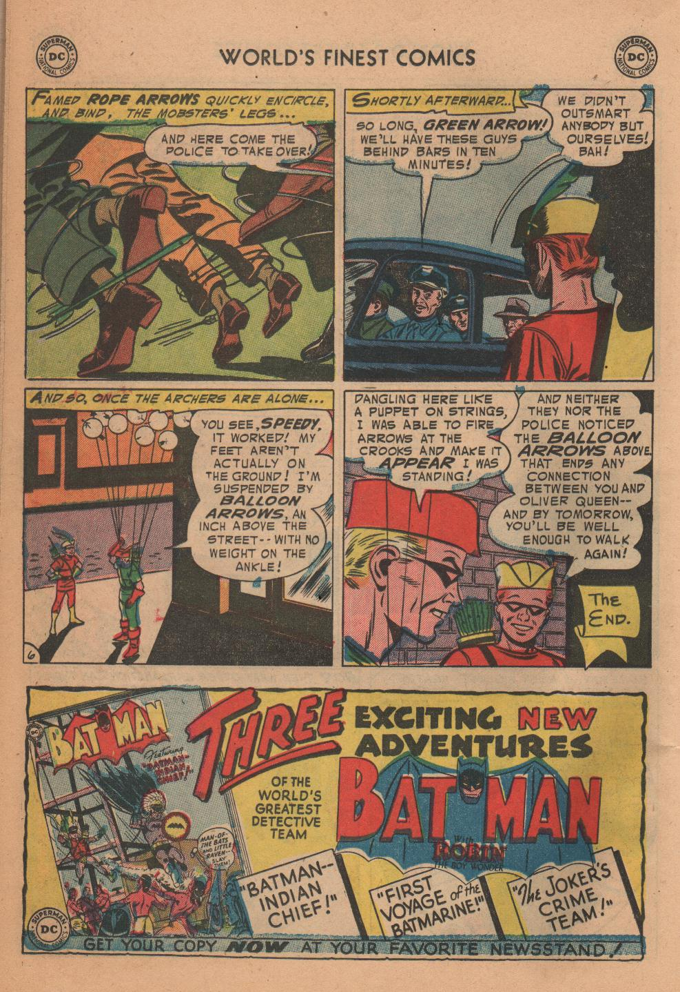 Read online World's Finest Comics comic -  Issue #72 - 22