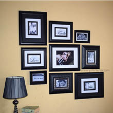 Custom Gallery Wall Frames in Port Harcourt, Nigeria