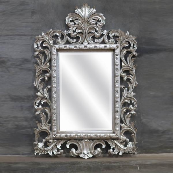 Miroir Baroque Argenté : au jour le jour avec oph lie voyage au fond du cabanon ~ Teatrodelosmanantiales.com Idées de Décoration