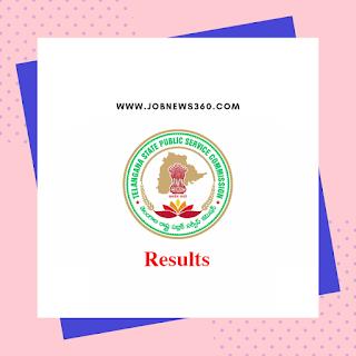 TSPSC Pharmacist Grade-II Results 2019 - Merit List & Certificate Verification Schedule