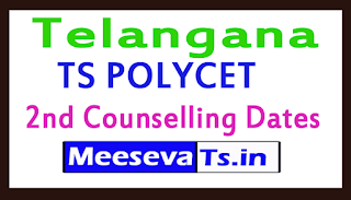 TS POLYCET 2nd Counselling Dates