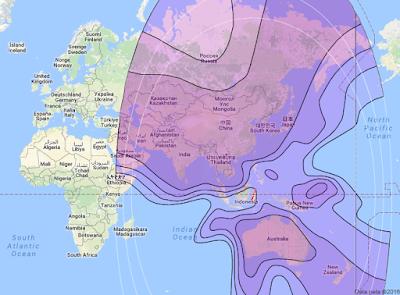 Satelit Asiasat 6/Thaicom 7 120.0°E CBand