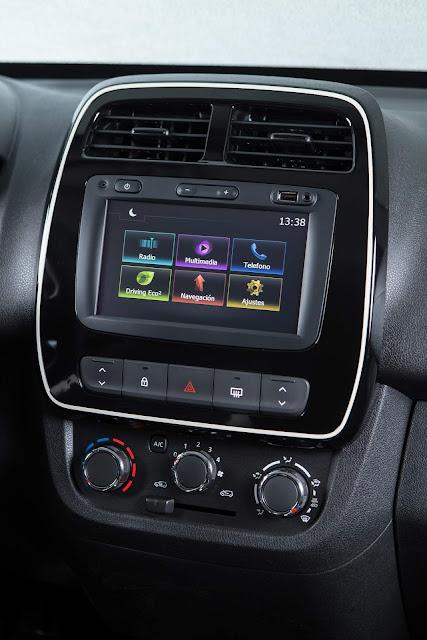 Novo Renault Kwid 2018 Intense - interior