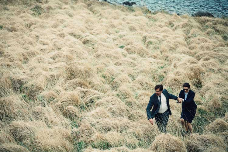 Colin Farrell and Rachel Weisz run for their lives in The Lobster.