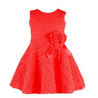 Model Baju Dress Bayi Perempuan Lucu