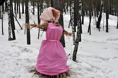 Масленичная кукла