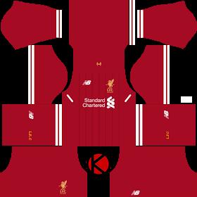 d04b1c72a Liverpool Kits 2016 2017 - Dream League Soccer 2017