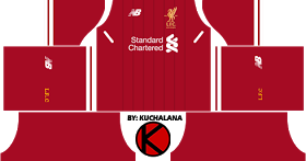 e9271f40a6e Liverpool Kits 2016 2017 - Dream League Soccer 2017