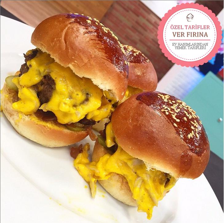 Acıktınız mı? Hisseder Gibiyiz :) İşte Açlığınızı Kesecek Enfes Bir Lezzet Mini Hamburger Malzemeleri, Tarifi ve Yapılışı.