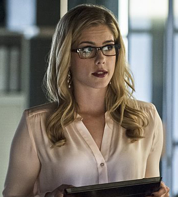 Felicity Smoak gemstone earrings