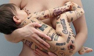 tattoo on a woman's